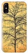 The Lord Jesus Is The Tree Of Life IPhone Case