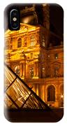 The Louvre At Night IPhone Case