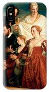 The Madonna Of The Cuccina Family IPhone Case