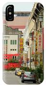 The Majestic Theater Chinatown Singapore IPhone Case