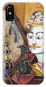 The Man In The Mirror IPhone Case