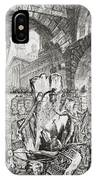 The Man On The Rack Plate II From Carceri D'invenzione IPhone Case