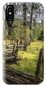 The Meadow Fence IPhone Case