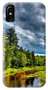 The Meandering Moose River IPhone Case