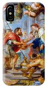 The Meeting Of Abraham And Melchizedek IPhone Case