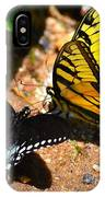 The Meeting Of The Butterflies IPhone Case