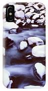 The Merced River In Winter, Yosemite IPhone Case