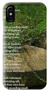 The Mills Of Corporate - Poem And Image IPhone Case