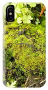 The Miniature World Of The Moss IPhone Case