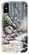 The Mist At Bridalveil Falls IPhone Case