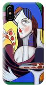 The Mona Pizza IPhone Case