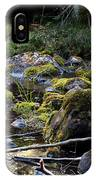 The Moss In The River Stones IPhone Case