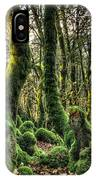 The Mossy Creatures Of The  Old Beech Forest 1 IPhone Case