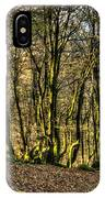 The Mossy Creatures Of The  Old Beech Forest 4 IPhone Case