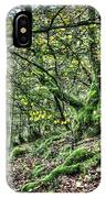 The Mossy Creatures Of The  Old Beech Forest 5 IPhone Case