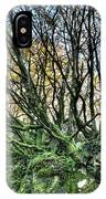 The Mossy Creatures Of The  Old Beech Forest 8 IPhone Case