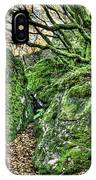 The Mossy Creatures Of The Old Beech Forest IPhone Case
