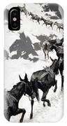 The Mule Pack IPhone Case