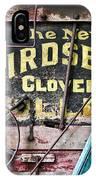 The New Birdsell Clover Huller IPhone Case