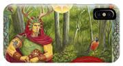 The Oak King IPhone Case