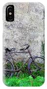 The Old Bike In The Irish Countryside IPhone Case