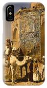The Old Blue Tiled Mosque - India IPhone Case