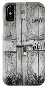 The Old Door IPhone Case