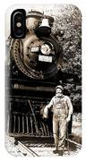 The Old Engineer IPhone Case