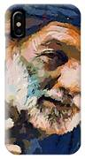 The Old Fisherman IPhone Case
