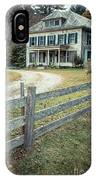 The Old House On The Hill  IPhone Case