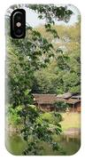 the old Japanese House by the water IPhone Case