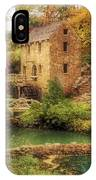 The Old Mill In Autumn - Arkansas - North Little Rock IPhone Case