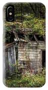 The Old Shack In The Woods - Autumn At Long Pond Ironworks State Park IPhone Case