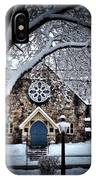 The Olde Stone Church IPhone Case