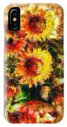 The Other Sunflowers IPhone Case