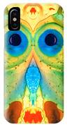 The Owl - Abstract Bird Art By Sharon Cummings IPhone Case