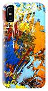 The Painting Has A Life Of Its Own. I Try To Let It Come Through. Jackson Pollock   IPhone Case