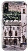 The Palace And The Tower IPhone Case