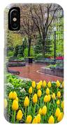 The Park At Post Office Square IPhone Case