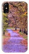 The Park In Autumn IPhone Case