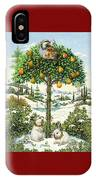 The Partridge In A Pear Tree IPhone Case
