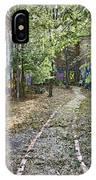 The Path Of Graffiti IPhone Case