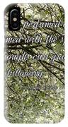 The Perfumed Cherry Tree 1 IPhone Case