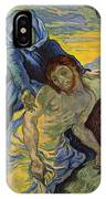 The Pieta After Delacroix 1889 IPhone Case