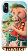 The Pig & Whistle IPhone Case