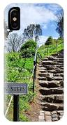 The Pilgrims' Steps IPhone Case