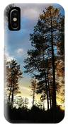 The Pines At Sunset IPhone Case