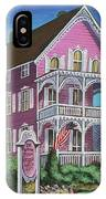 The Pink House In Cape May IPhone Case