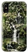 The Pond And The Forest Waterfall IPhone Case