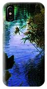 The Pond At Dusk IPhone X Case